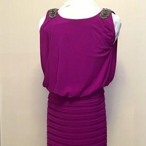 🔥Xscape fuschia dress